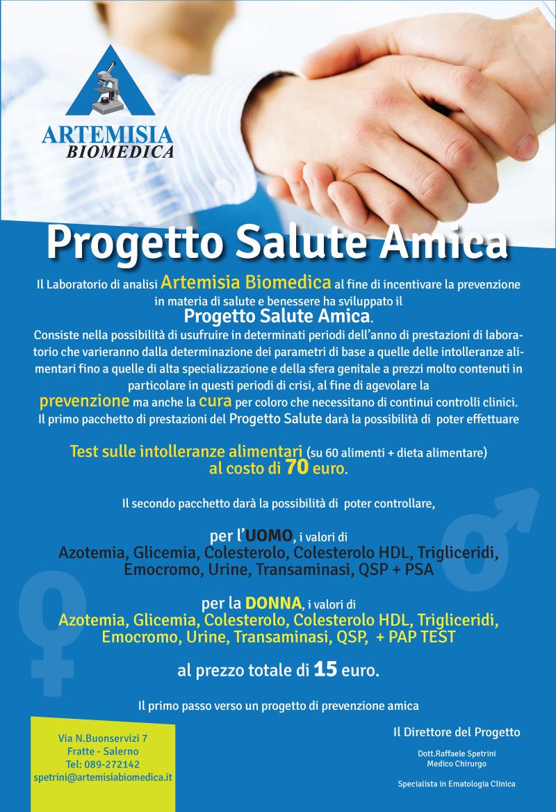 Progetto Salute Amica Artemisia Biomedica
